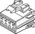 Automotive Connectors CON MP 280 8W FEM