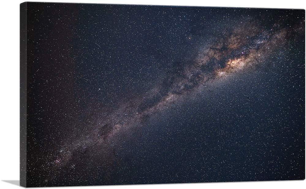 ARTCANVAS Deep Space Nebula Navy Hubble Telescope Canvas Art Print - 40 x 26 (0.75 Deep)