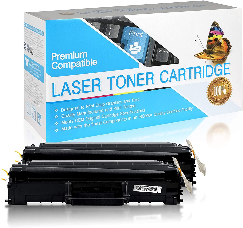 SuppliesOutlet Compatible Toner Cartridge Replacement for Dell Laser 1100/1110 / 310-6640/310-7660 / GC502 / J9833 (Black,2 Pack)