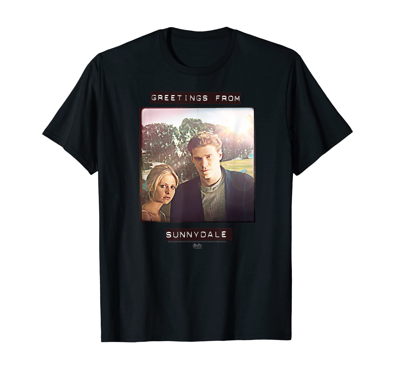 Buffy the Vampire Slayer Greetings From Sunnydale T-Shirt