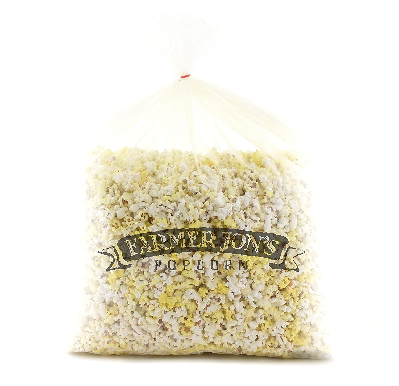 Farmer Jon's Popcorn Butter Bash Bag, 80oz of Bulk Butter Popped Popcorn