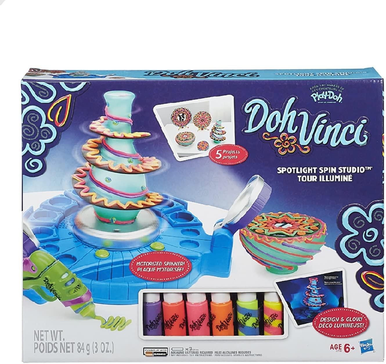 DohVinci Spotlight Spin Studio, Standard Packaging