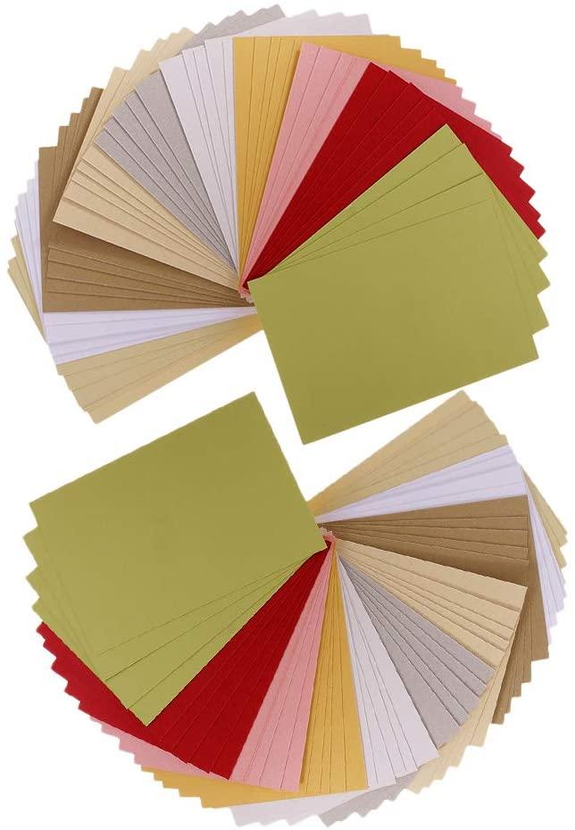 Esquirla 100 Sheets Scrapbooking Pearlescent Paper Cardstock