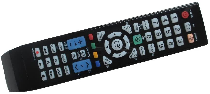 Hotsmtbang Replacement Remote Control For Samsung LN32D450G1DXZX LN40D551 LN40D551K8F LE40B655T2W LN40B750U1F LN46B750 LCD LED HDTV TV