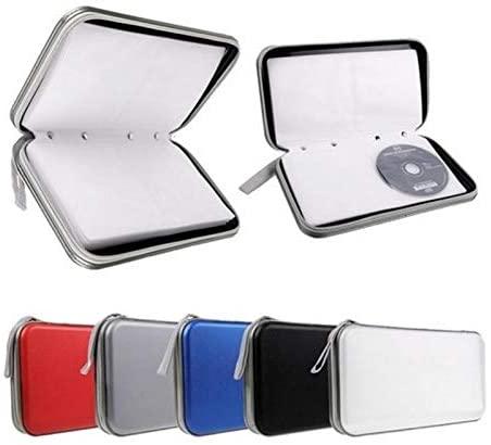 TOTMOX Disc DVD CD Storage Holder Bag 80pc Case Album Box