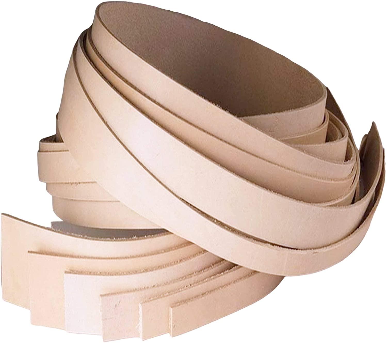 ELW Leather Belt Blanks/Strips/Straps 9-10 oz. (3.4-4mm) Thickness|1-3/4