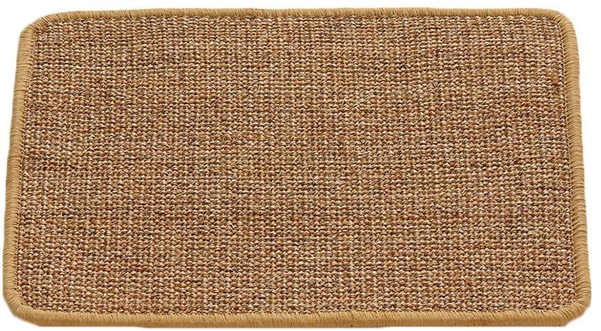 Balacoo Cat Scratching Mat,Natural Sisal Cat Scratcher Pad Pet Sleeping Carpet Pad for Cats Grinding Claws & Protecting Furniture 30x40cm