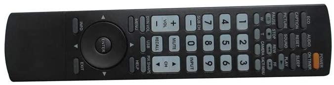 Easytry123 Remote Control for Sanyo GXCA GXCB DP19647 DP15647 DP15657 GXGA DP42861 DP46861 DP42862 DP46862 LCD HDTV TV