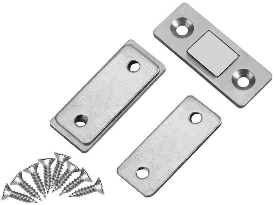 Magnetic Door Catch Ultra Thin Strong Magnetic Door Catch Latch For Furniture Cabinet Cupboard With Screws