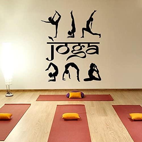 Vinyl Wall Decals Yoga Sport Decal Sticker Home Decor Art Mural Z879