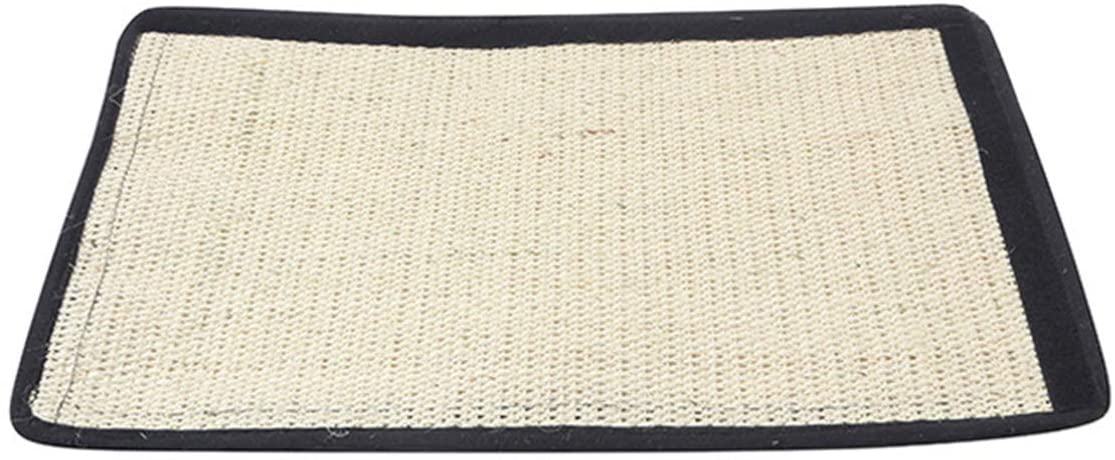 Yunnyp Cat Scratch Pad,Cat Scratching Mat Cat Scratcher Natural Sisal Mat Protecting Your Furniture Sofa Couch