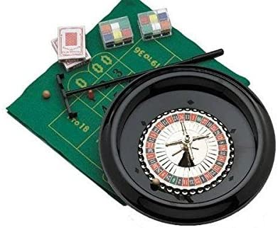 Roulette Recreational Casino Activity Party Set with Accessories