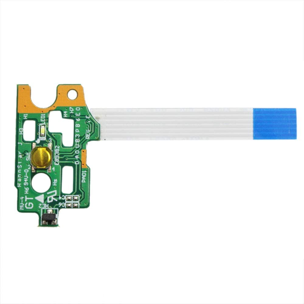 Gintai Laptop Power Button Board with Ribbon for HP Pavilion 15-n062nr 15-n064nr 15-n065nr