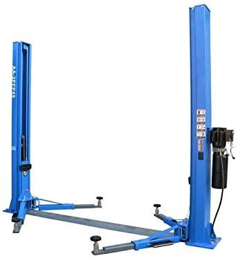 HPDMC 10,000LB Two Post Lift baseplate Dual Sides Unlock 110V Floor Plate Auto Ramp Car Lift Truck Hoist