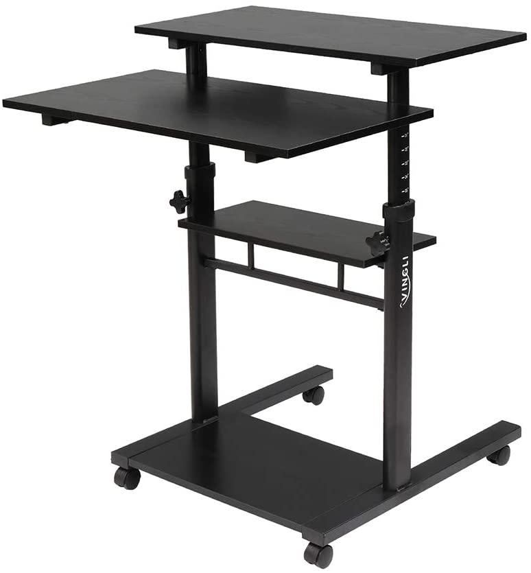Knocbel Mobile Standing Desk, 30.3