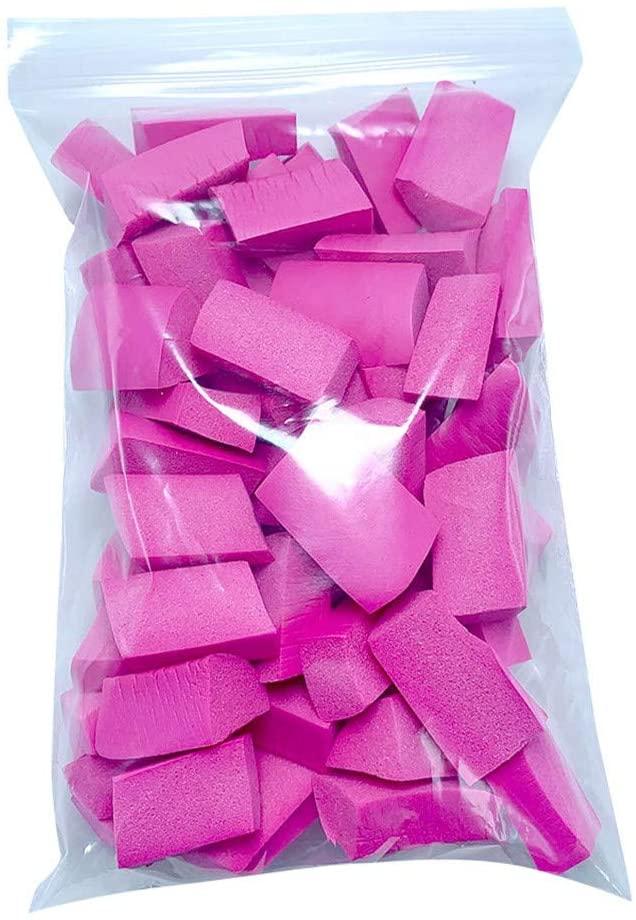 Hisoul DIY Slime Foam Balls Soft Foam Chunks Beads Filler Slime Tool for Slime Making, Gift Box Filling, Glass Bottles DIY, Floral DIY (Hot Pink)