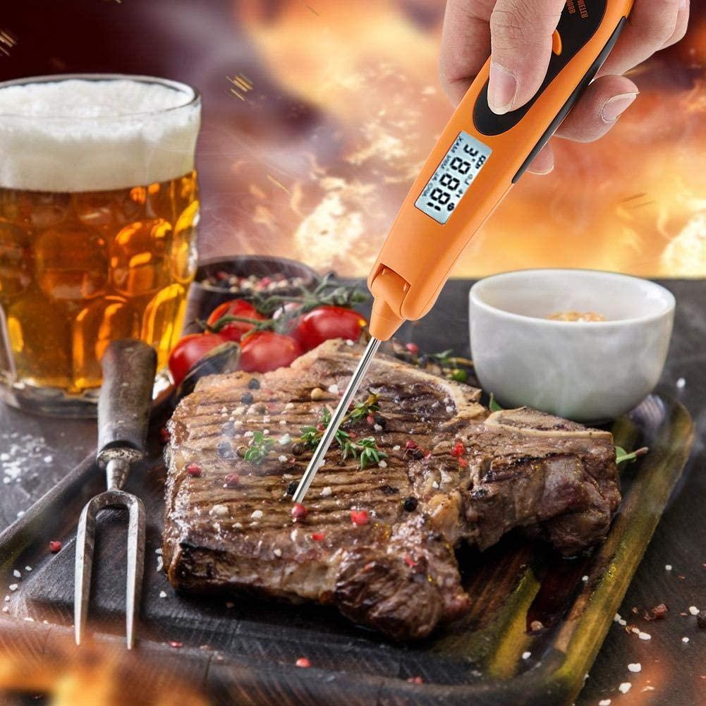 Kitchen BBQ Grill Meat Temp Tester Digital Meat Thermometer, BBQ Thermometer, Digital BBQ Thermometer, for Cooking for Baking for Kitchen for Home