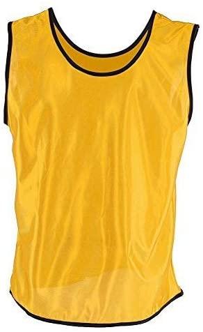 Tbest Team Practice Vests,12 Pack Scrimmage Vest Soccer Sports Scrimmage Vest for Children Soccer