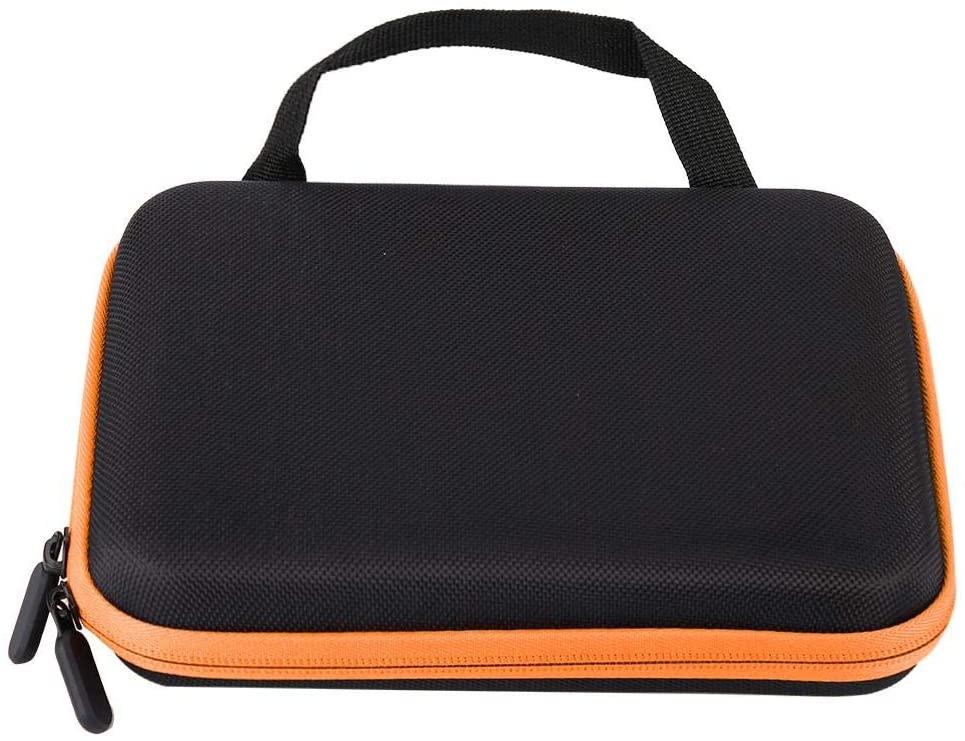 Essential Oil Organizer, Essential Oil Storage Bag, Anti-Crash Design Complete Protection for Traveling for Home(Orange)
