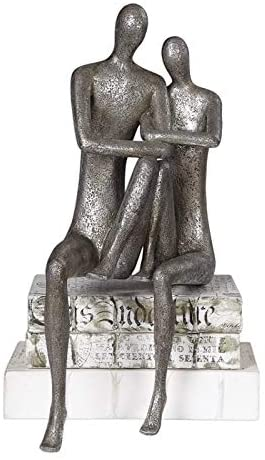 Uttermost Courtship Figurine in Antique Nickel