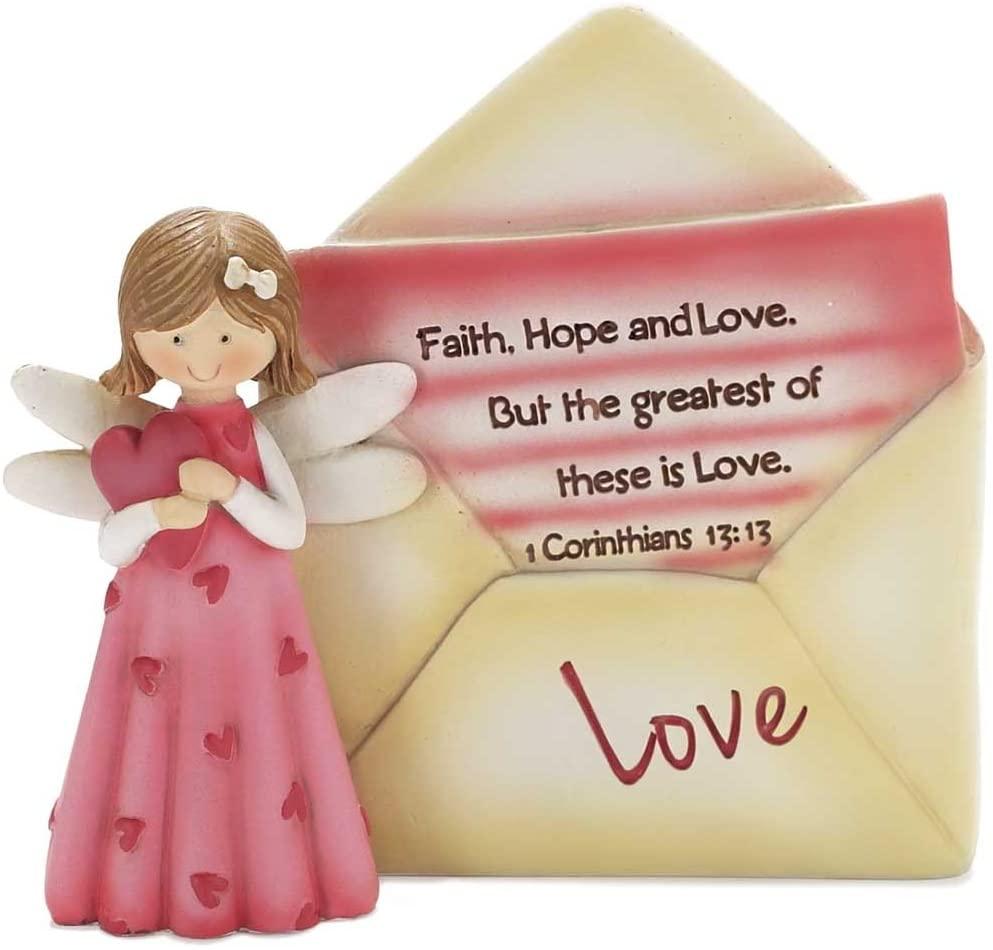 Dicksons Angel with Envelope Figurine - Love