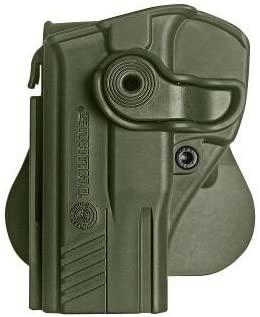 Left hand holster for Taurus 24/7 G2 Pistols Retention Roto Holster and a genuine IGWS's firing range earplugs kit.