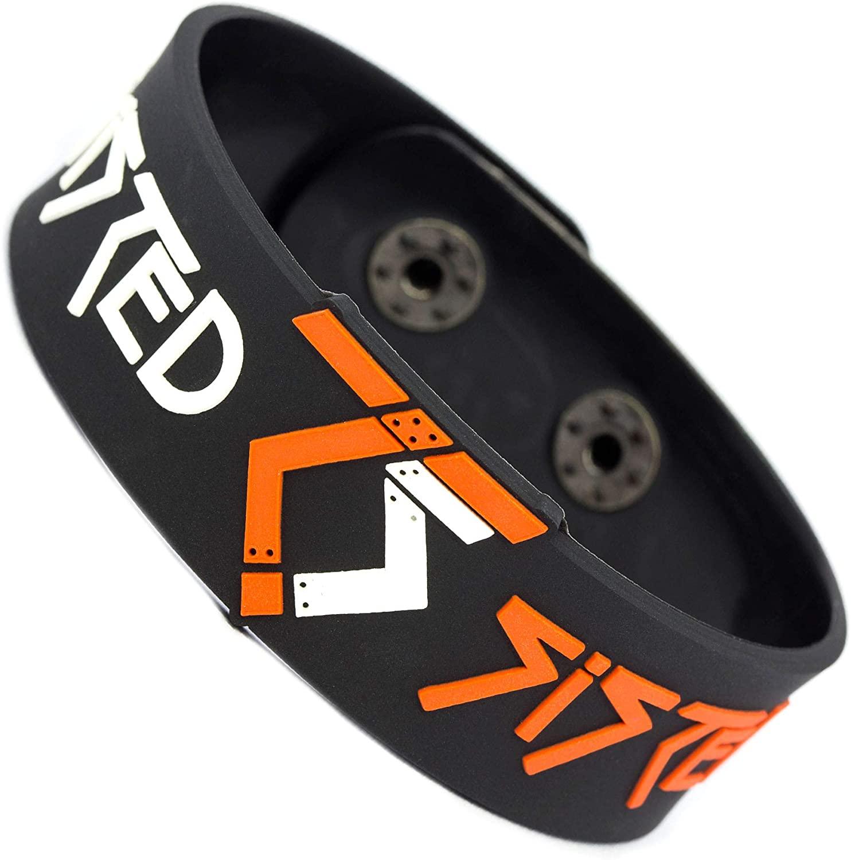 RockbandFan Twisted Sister Wristband Rubber Bracelet v1