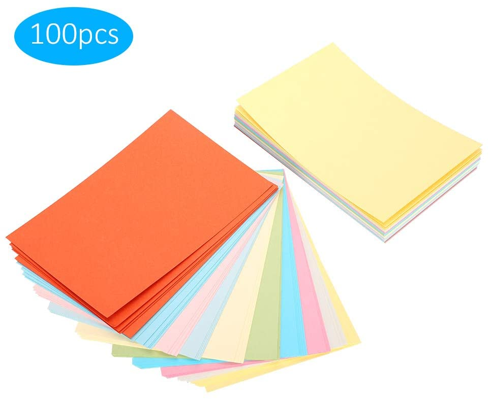 DIY Color Paper, Blank Color Card, delicate hand grip smooth magazines pictures cosmetic boxes notebooks wine boxes for books brochures
