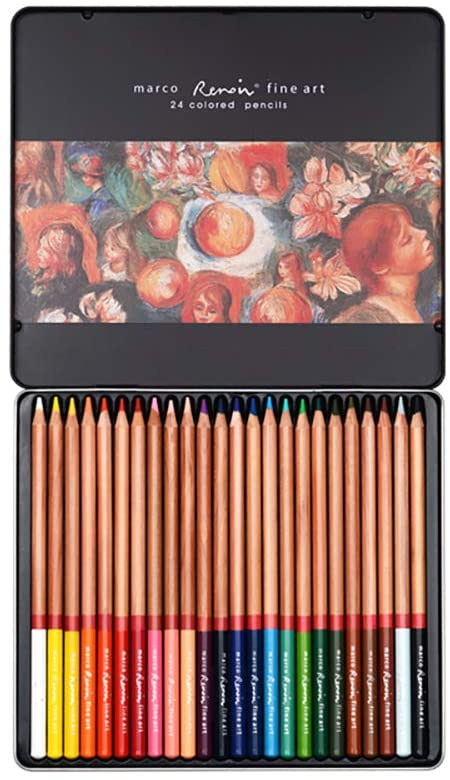 Artist Willow Charcoal Sticks (Mineral Color Pigment Chalk 24 Color)