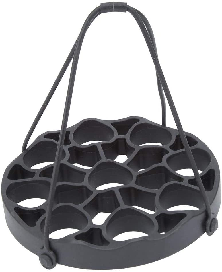 Egg Steamer Rack Steam Diverter Silicone Sling for Instant Pot Lifter,With Portable Handle