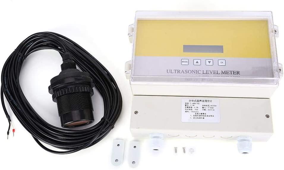 Marhynchus Ultrasonic Level Meter DC24V Split Type Analog Signal Output 4-20mA(0~10 Meter)