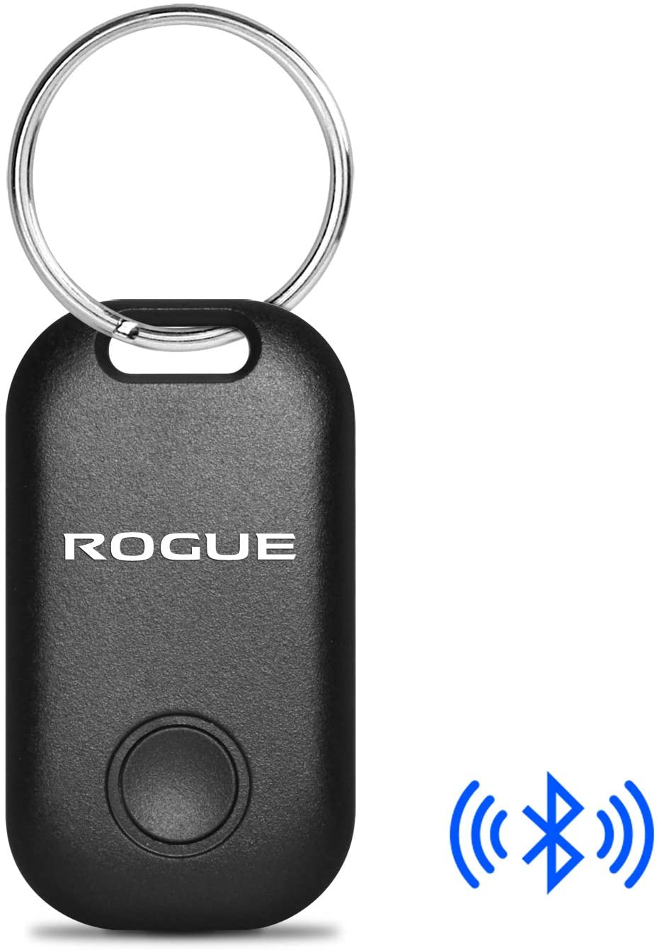 iPick Image for - Nissan Rogue Bluetooth Smart Remote Key Finder Key Chain Key-Ring Tracking Device Work with Cell Phone, Black