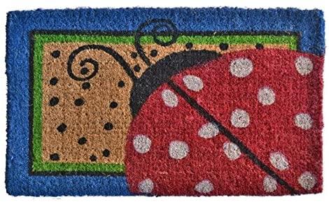 Doormats - Lovely Ladybug Coir Doormat - 18' x 30