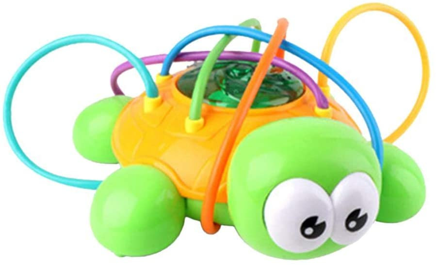Sprinklers Water Spray Toys - Cartoon Turtle, All-Round Sprinkling, Rotatable Water Sprinkle Toys for Outdoor Outside Garden Yard for Adult Children Kids, Safe and Novel