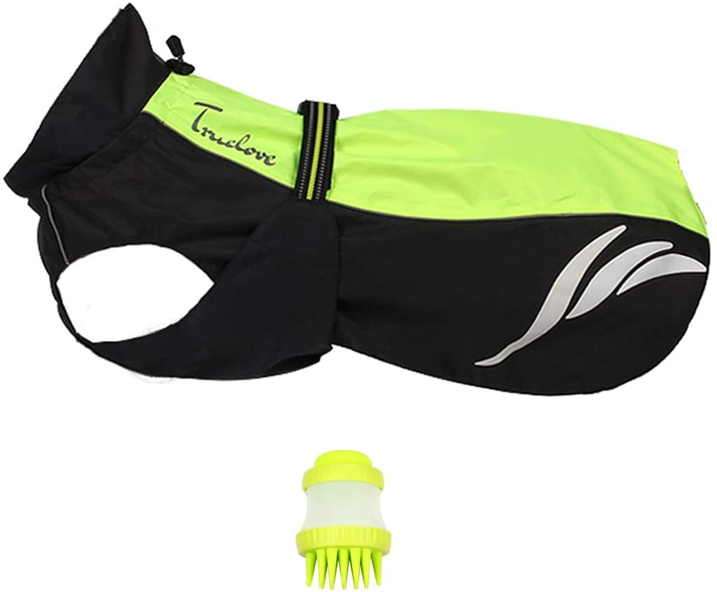 JAX PLANET Premium Dog Jacket -+FreeGift Set: Waterproof Windproof Dog Clothes Comfort Dog Vest Reflective Safety Vest Perfect for Outdoor Activity(1.S/S/FSeasons 2.Winter Season)