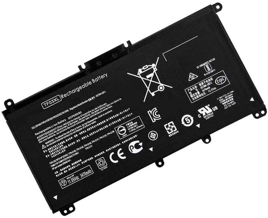 Powerforlaptop Laptop/Notebook Replacement Battery for HP Pavilion 15-CC 15-CD 14-BF Series HT03XL HSTNN-UB7J L11421-54 HSTNN-LB8L HSTNN-IB8OL HSTNN-DB8SL HSTNN-DB8R HSTNN-LB8M