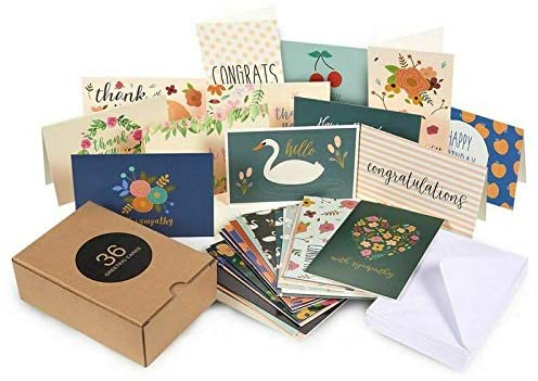 Assorted All Occasion Greeting Birthday Congratulation Thank You Cards 4