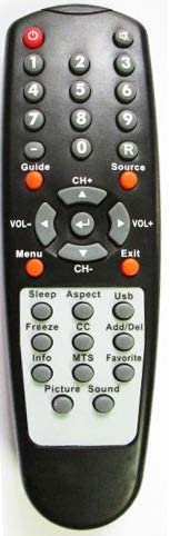 UBay New Remote Control Compatible with Sceptre X32 X32GV-komodo X320BV-HD X322BV-HD X320BV-ECO X320 X370BV-FHD X370BV-HD X37 X372BV-FHD X32BV-NAGA X400BV-FHD Sceptre TV