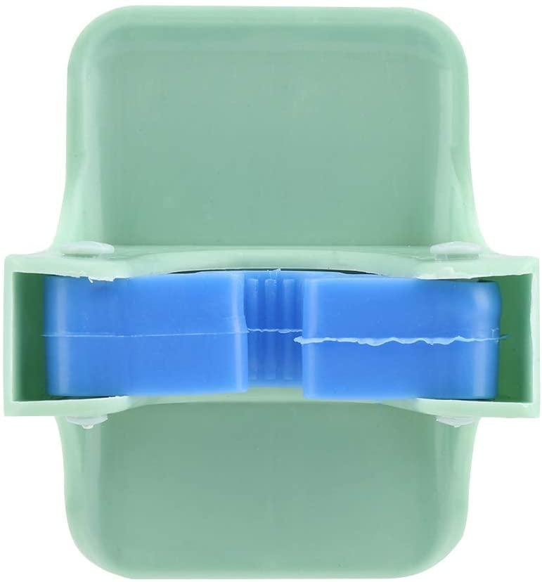 Eastbuy Wall-Mounted Storage Rack - Multifunctional Wall-Mounted Storage Rack for Mop Toilet Brush Bathroom(Green)