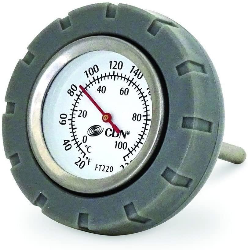 Cdn Multi-purpose Floating Waterproof Stainless Steel Thermometer; Custard Sauce