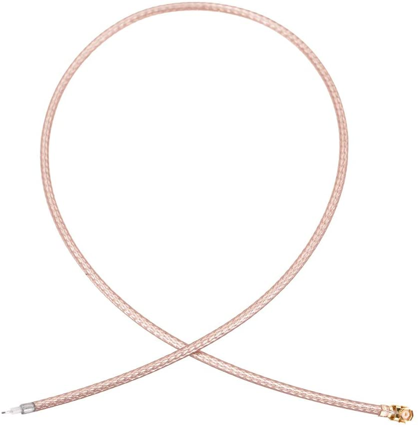 uxcell U.FL Connector,Pigtail Antenna Coaxial RRG178 Low Loss Cable,RF Coaxial Adapter Connector,12inch