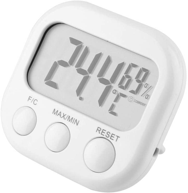 WAL FRONT TA668 Digital Humidity Meter Hygrometer Thermometer Temperature Display for Home Use