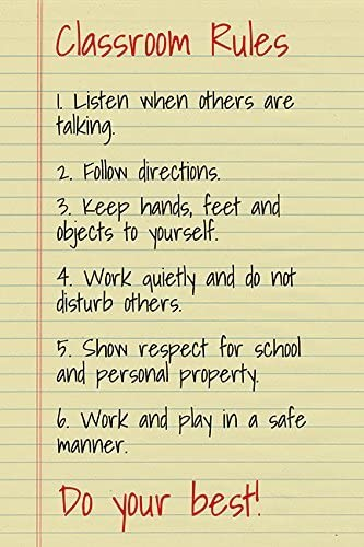 Keep Calm Collection Classroom Rules, Motivational Classroom Poster