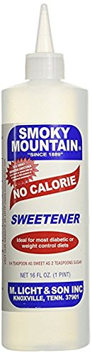 Smoky Mountain No Calorie Sweetener 16 Oz. Pack of 3