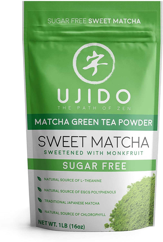 Ujido - Japanese Monk Fruit - Sweet Matcha - Latte (16 Ounce (467g))