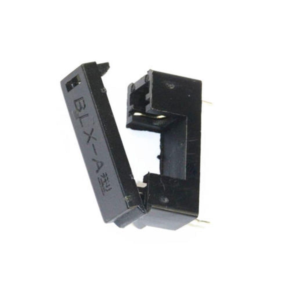 10pcs BLX-A Type PCB Mount Fuse Holder 5mm x 20mm 15A/125V Solder Holders