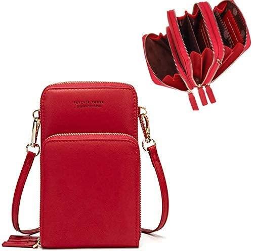 floweryocean Crossbody Bags Purses for Women Tote Bag Shoulder Bag - Credit Card Holder Wallet