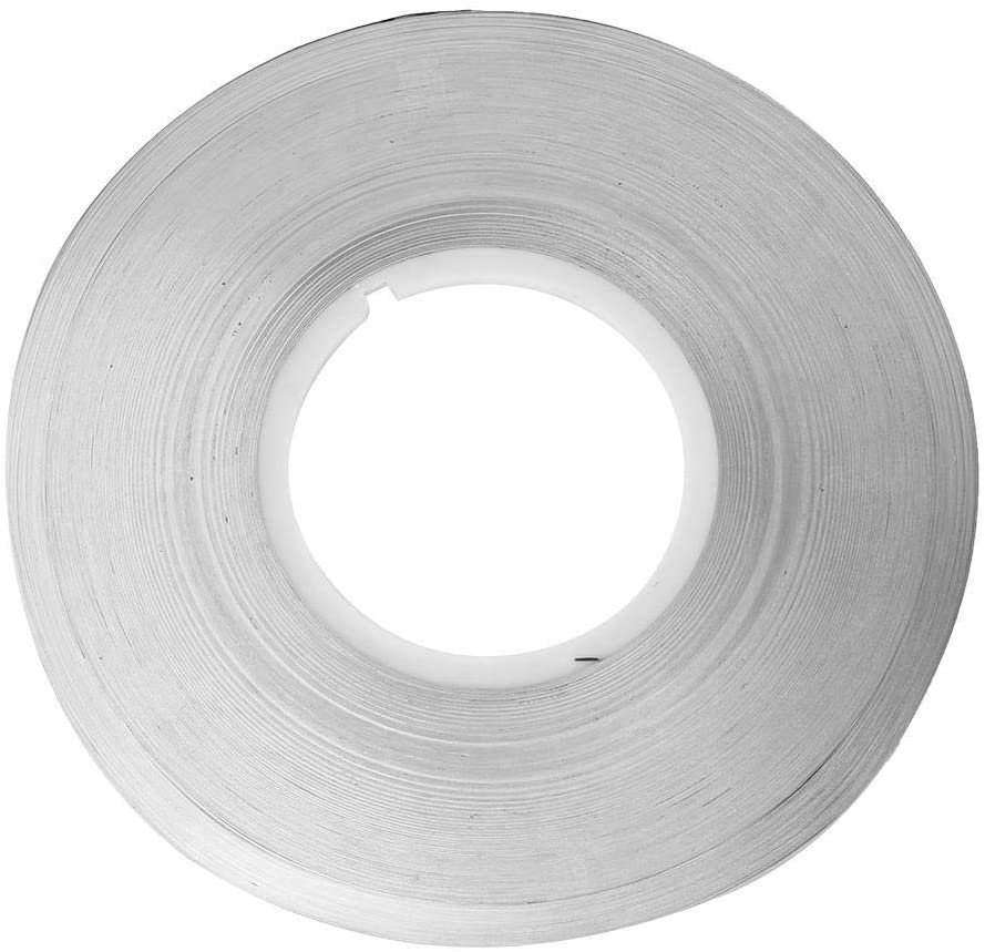 Marhynchus Pure Nickel 0.15mm 1kg M-Class Hardness Pure Nickel Strip Tape Strap for Battery Power Supply Welding(0.157mm)