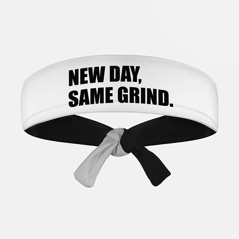 SLEEFS New Day, Same Grind Tie Headband