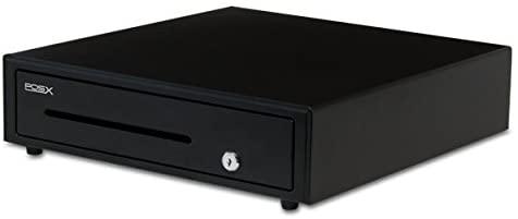 POS-X ION-C16 Cash Drawer, Black, 16.1w x 16.3d x 3.9h Body ION-C16A-1B